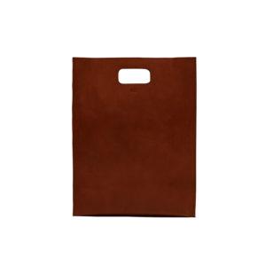 KEES001 Red brown handbag