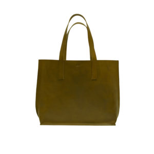 KEES002 Olive green shopper