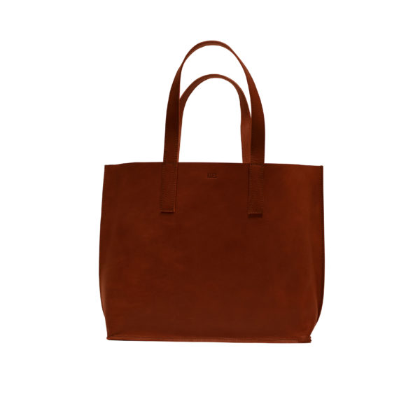 KEES002 Red brown shopper