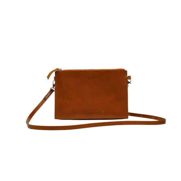 Shoulderbag cognac front