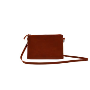 shoulderbag redbrown front